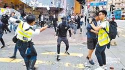 反送中三罷 衝突擴大!港警開槍 暴民燒人