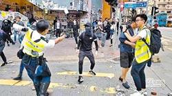 港警連開3槍 21歲示威者命危