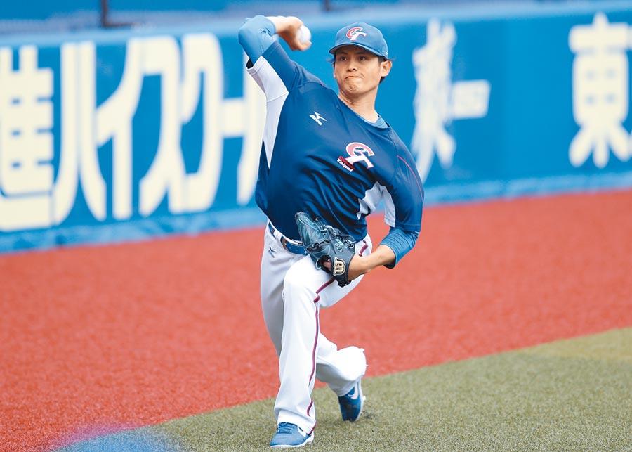 世界12強棒球錦標賽複賽,中華隊今晚迎戰韓國隊,將推出張奕先發。(中央社)