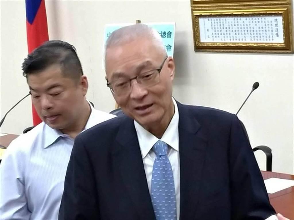 國民黨主席吳敦義。(本報資料照片)