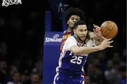 NBA》恩比德發威 七六人逆襲騎士