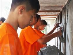芳苑國中全台唯一泥作職人培訓 升學就業通通一手包辦