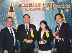 元大期勇奪鑽石、國家品牌玉山雙項大獎