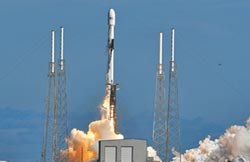 搶攻太空 美再發射60顆星鏈衛星