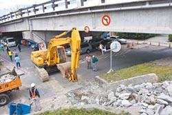 花蓮尚志橋震損 12月1日封閉半年施工
