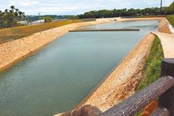 九渠溝滯洪池 解決新社水患