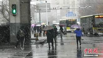 東北華北多城最高氣溫將跌破冰點