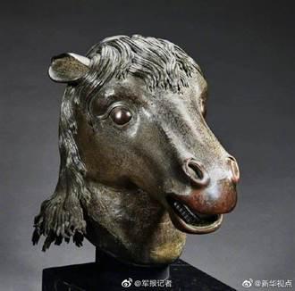 澳門賭王何鴻燊慷慨捐贈 馬首銅像回歸圓明園