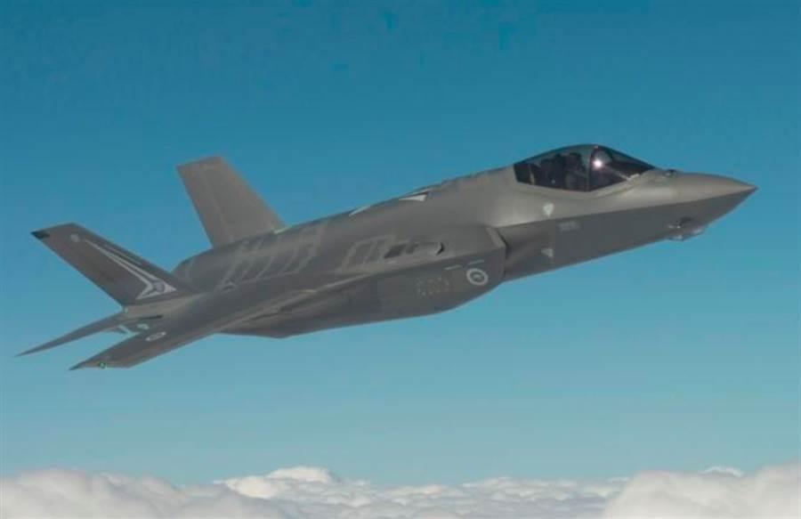 澳洲皇家空軍的F-35戰機。(洛克希德馬丁)