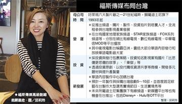 兩優勢 福斯華語內容製作加碼台灣