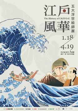 2020寒假 強檔展覽【江戶風華-五大浮世絵師展】 單人預售票180元 11/14正式開賣