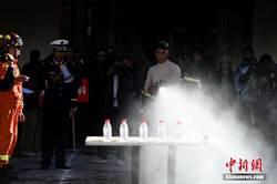 布達拉宮的消防趣味運動會