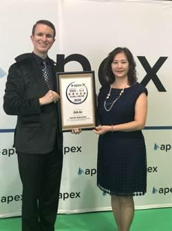 長榮航空榮獲APEX頒發五星級最高榮譽獎項