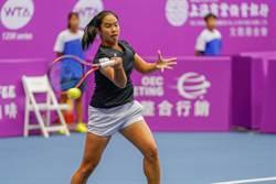 海碩女網》台灣最後希望 楊亞依止步16強