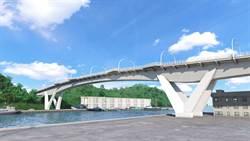 南方澳跨港新橋造型圖曝光  以「鯖魚」為意象造型