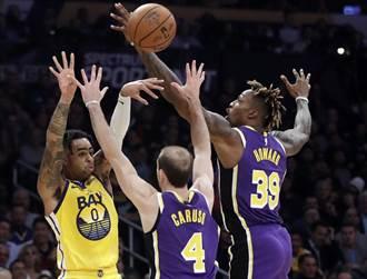 NBA》湖人痛宰勇士26分 更送5連敗