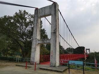 烏山頭水庫跨虹吊橋 明年1月重啟通行