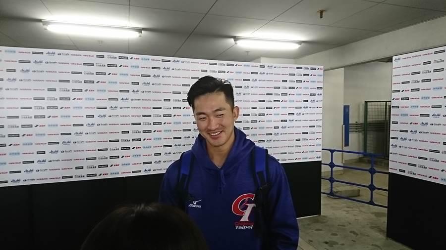 業餘甲組成棒合庫隊投手吳昇峰明天將在台美戰先發。(資料照/廖德修攝)