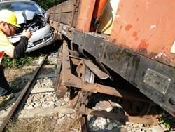自小客車撞阿里山森鐵工程車 上午一班列車取消