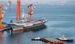 傳接收艦載機 陸002艦第9次海試