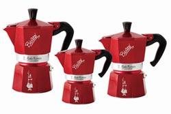 國際咖啡展 義大利國寶級咖啡壺亮相