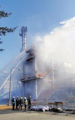 火災未通報 六輕人員遭送辦