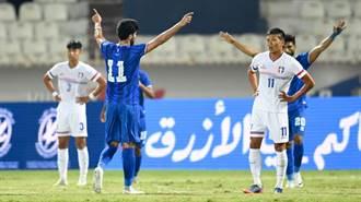 科威特城慘案 中華男足被海電9球