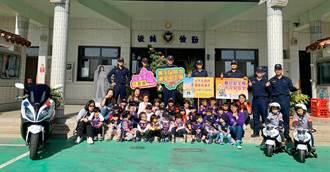 金門湖警7名校友 母校與學弟、妹相見歡
