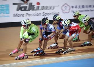 台北國際滑輪溜冰賽 楊合貞奪首金