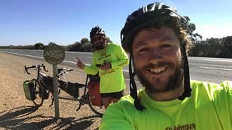 屁股好痛!他們騎雙人協力車環球一周創世界最快紀錄