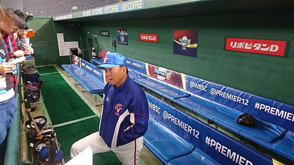 世界棒球12強賽打完,總教練洪一中決定請辭。(廖德修攝)