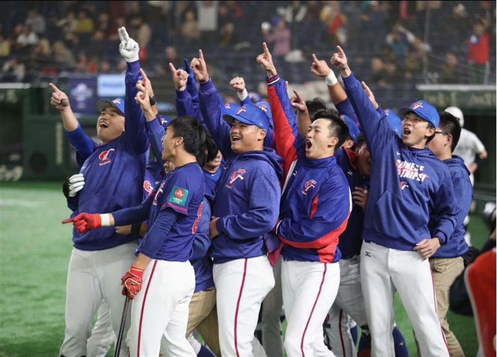此屆中華隊在12強表現精采。(中央社資料照)