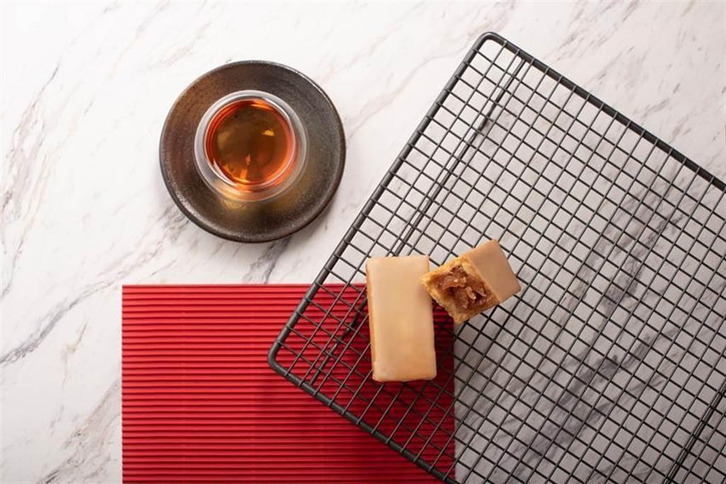 微熱山丘選用日本青森紅玉蘋果,推出「蘋果酥」。圖/微熱山丘