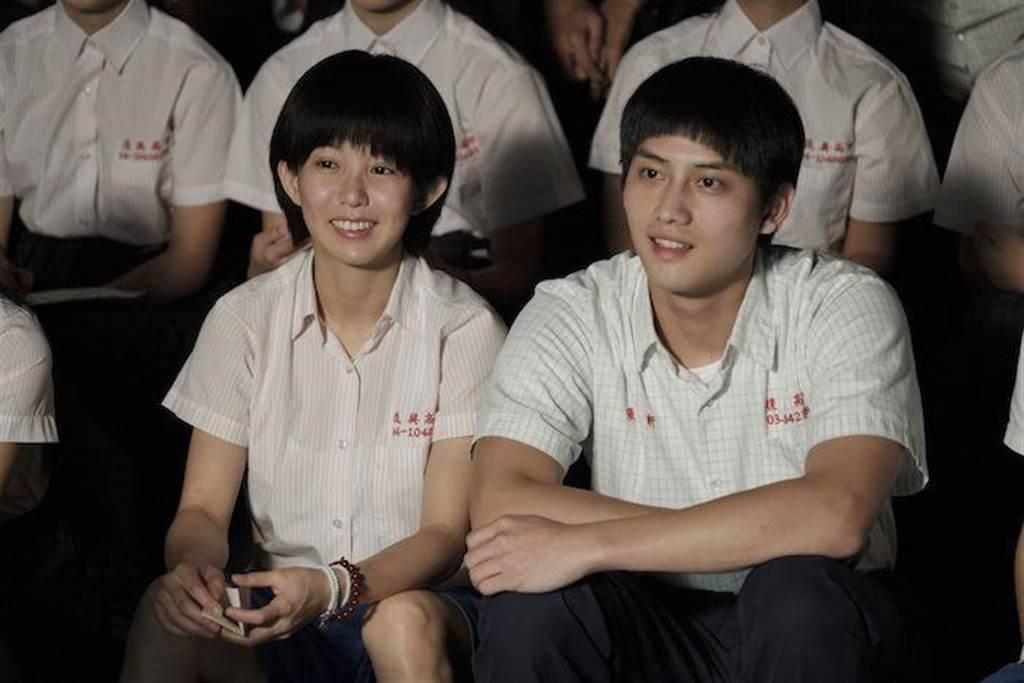 郭書瑤(左)與范少勳。公視提供