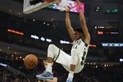 NBA》字母哥續占MVP榜首 席亞卡第5