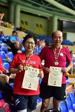 退休檢察長林朝松 70歲勇奪馬國羽球比賽冠軍