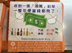 「收罰單1年便當錢飛了!」 80萬餐盒宣導反酒駕
