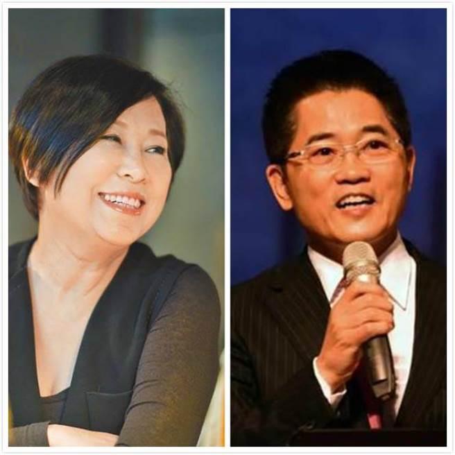 余湘(圖右)和黃健庭(圖左)曾是台東新生國中同班同學。(中時報系資料照片)