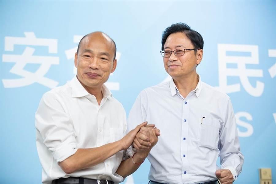 韓國瑜國政顧問團下周將推「六六六」托育政策。(圖/中時資料照片)