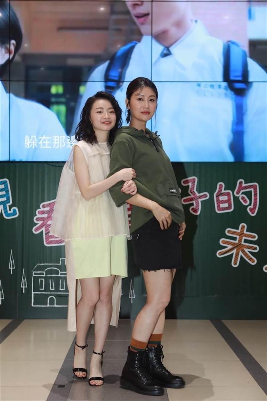 朱芷瑩(右)、詹宛儒飾演母女。公視提供