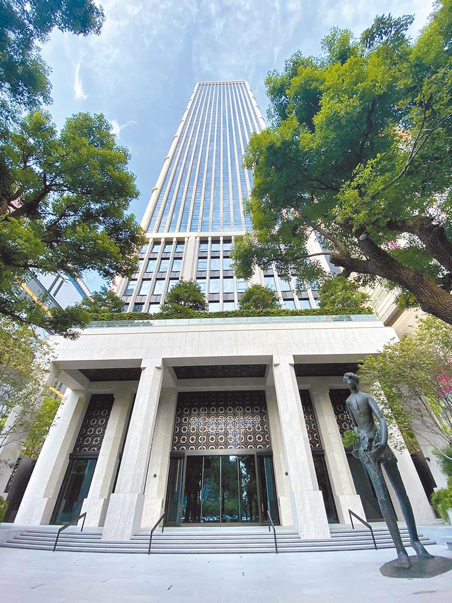 中台灣的地標建築「聯聚中雍大廈」將結構設計提升到0.409g,期許打造千年建築。(圖/黃繡鳳)