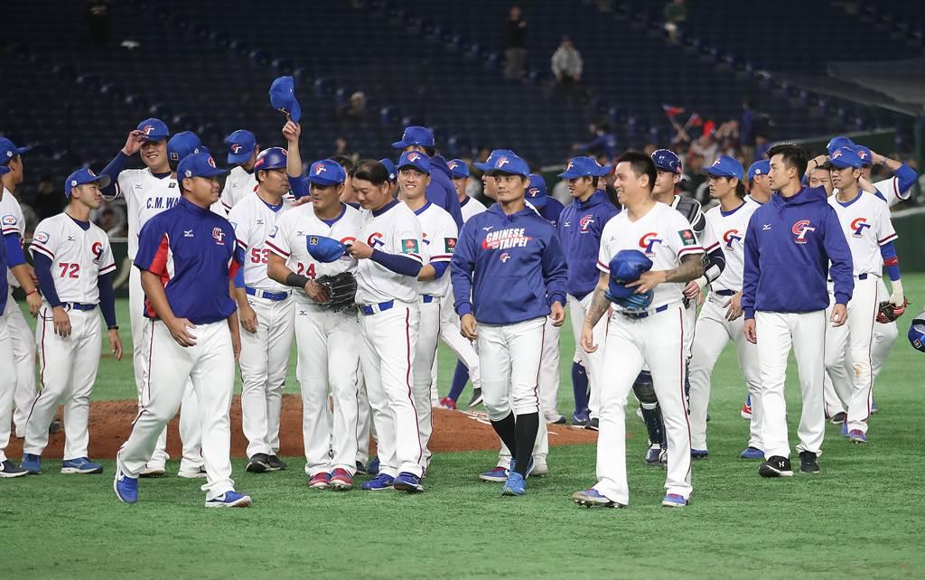 中華隊複賽雖擊敗韓國、澳洲隊,可惜只獲得第5名,只能準備明年的6搶1奧運最終資格賽了。(中央社資料照)