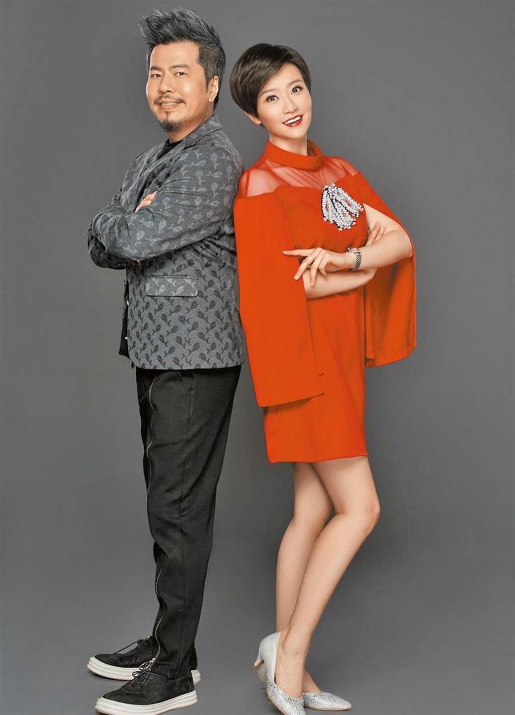 寇乃馨與黃國倫在大陸的演藝事業經營得有聲有色。資料照