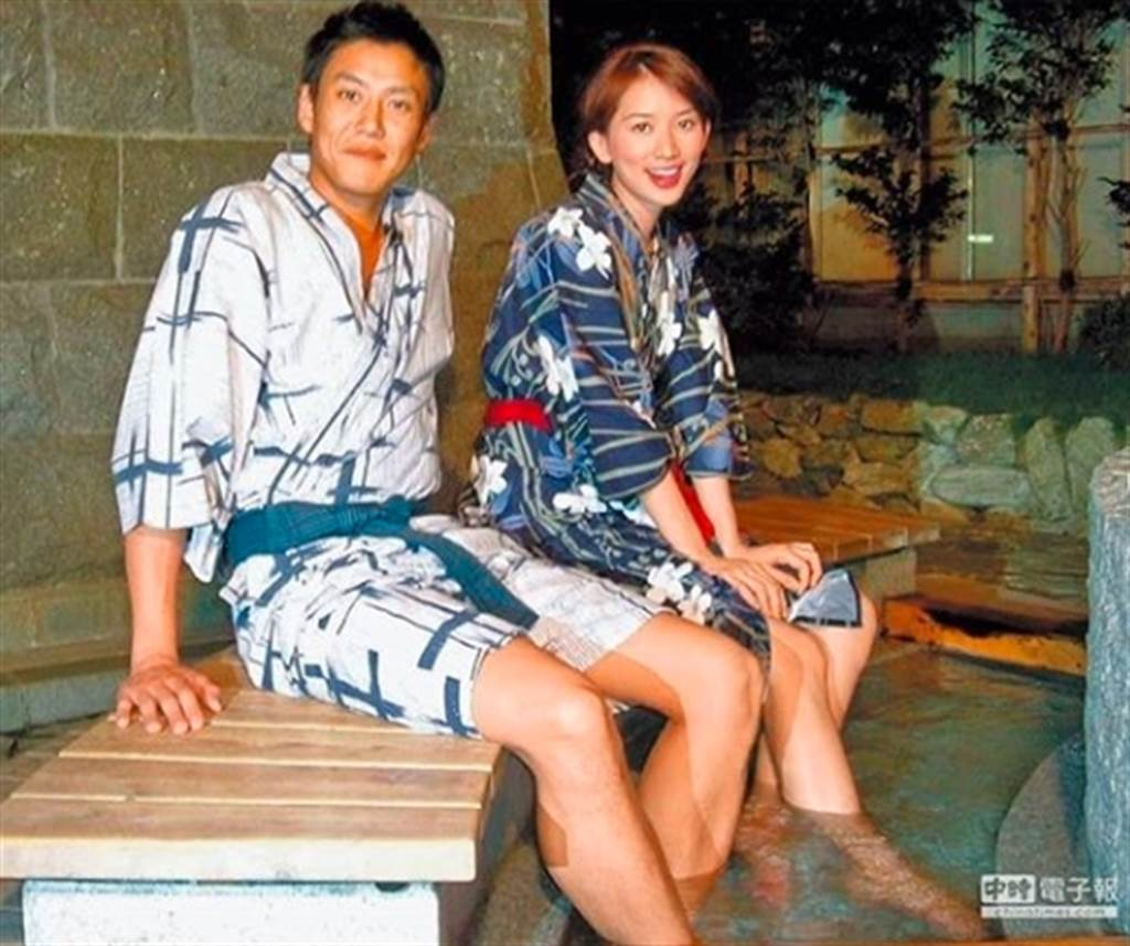 加賀美智久(左)曝當年還不太會說中文時,會說日文的林志玲只要遇到他就會和他聊天,相當溫暖工作也相當認真。(圖/中時資料照)