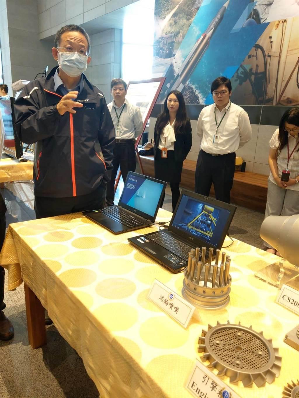 中科院長杲中興說3D列印技術未來的各種可能應用。呂昭隆攝