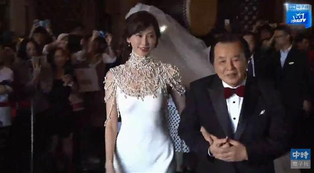 林志玲現身晶英酒店。