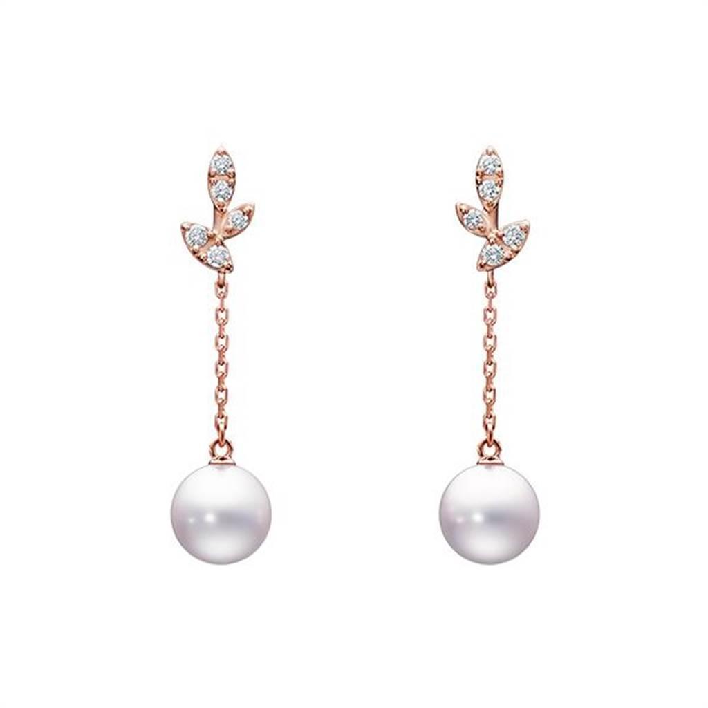 TASKI Kugel珍珠耳環,5萬1000元。(翻攝自官網)