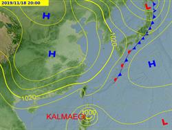 東北季風明報到 北台灣轉涼有短暫陣雨