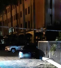 大水沖倒龍王廟 台中酒駕車撞毀警局門