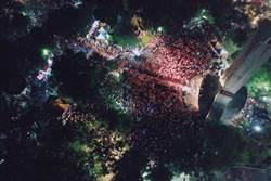 韓國瑜中和造勢場空拍畫面曝光 網一看被嚇到了!